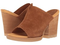 Kork Ease Lawton Brown Suede Women's Wedge Shoes