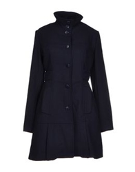 Amy Gee Coats Dark Blue