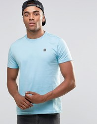 Voi Jeans Crew Neck T Shirt Blue