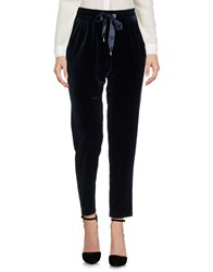 Atos Lombardini Casual Pants Dark Blue