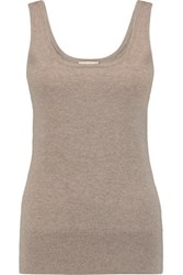 Michael Kors Collection Cashmere Tank Taupe
