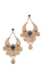 Adia Kibur Miranda Earrings Gold
