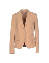 Boss Black Blazers Camel