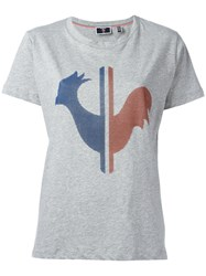 Rossignol W Valerie Rooster T Shirt Women Cotton 38 Grey