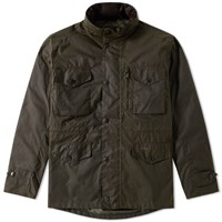 Barbour Sapper Wax Jacket Green