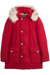 Woolrich Eskimo Down Parka Red