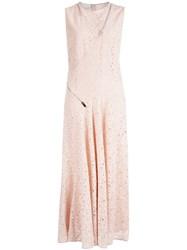 Stella Mccartney Lace Dress Nude And Neutrals