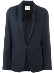 Forte Forte Fitted Blazer Blue