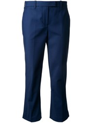 3.1 Phillip Lim Cropped Trousers Blue