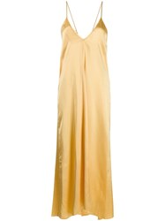 Forte Forte Camisole Dress Yellow
