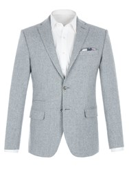 Alexandre Of England Men's Berwick Grey Speckle Jacket Grey