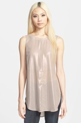 Astr V Back Tunic Metallic