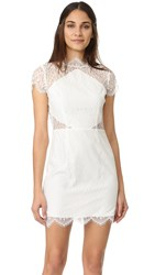 Keepsake Daydream Lace Mini Dress Ivory