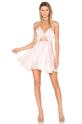 Finders Keepers Fernando Mini Dress Pink