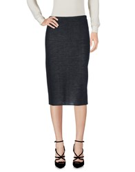La Fee Maraboutee Knee Length Skirts Steel Grey