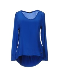 Seventy By Sergio Tegon Blouses Blue