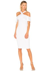 Nookie Hermosa Midi Dress White