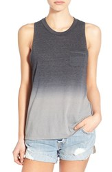 Women's Michelle By Comune Ombre Tank Light Grey Lime
