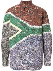 Y Project South Africa Printed Shirt Multicolour