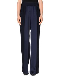 Escada Sport Trousers Casual Trousers Women Dark Blue