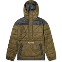 Columbia Lodge Pullover Jacket Green