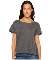 Joe's Jeans Arianna Tee Black Women's T Shirt