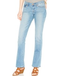 Lucky Brand Charlie Mid Rise Bootcut Jeans Hughes Wash