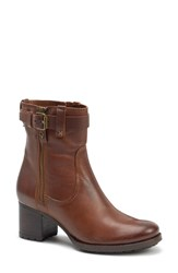 Trask Madison Waterproof Boot Brown Leather