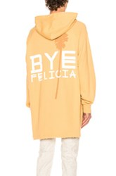 Baja East Bye Felicia French Terry Hoodie In Neutrals Yellow Neutrals Yellow
