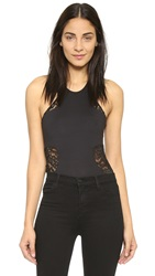 Top Secret Lex Bodysuit Black