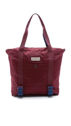 Adidas By Stella Mccartney Yoga Bag Maroon Dark Blue Vista Grey