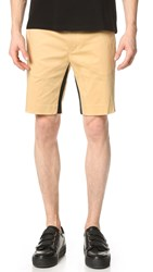 Opening Ceremony Mesh Tape Inseam Slim Fit Shorts Plywood