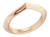 Miansai Angular Ring Polished Rose Gold