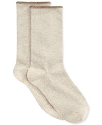 Hue Women's Jean Socks Oatmeal Heather