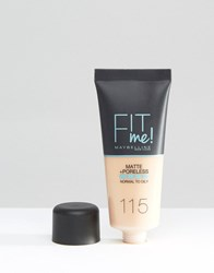Maybelline Fit Me Matte And Poreless Foundation Natural Ivory Beige