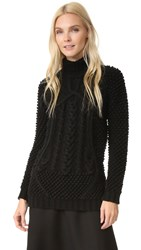 Prabal Gurung Turtleneck Sweater Black