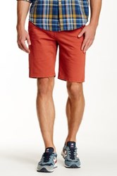 Joe's Jeans Brixton Trouser Short Red