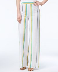 Xoxo Juniors' Striped Wide Leg Pants Multi