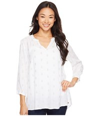 Hatley Embroidered Blouse White Porcelain Women's Blouse