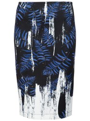 Yigal Azrouel Abstract Print Skirt Black