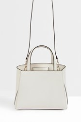 Valextra Women S Mini Structured Tote Boutique1 White