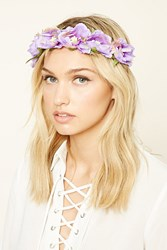 Forever 21 Faux Suede Flower Crown
