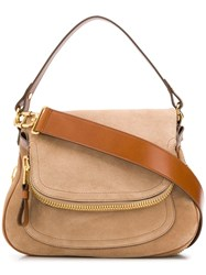Tom Ford Jennifer Shoulder Bag Neutrals