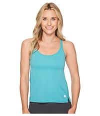 Asics Legends Loose Tank Top Lake Blue Heather Sleeveless
