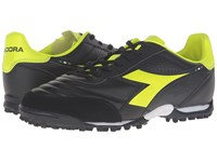 Diadora Brasil Lt Tf Black Yellow Fluo Men's Soccer Shoes
