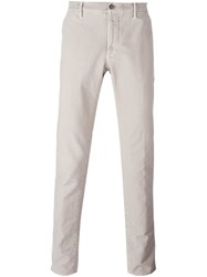 Incotex Slim Fit Chinos Nude And Neutrals