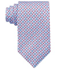 Brooks Brothers Men's Flag And Raft Neat Tie Navy