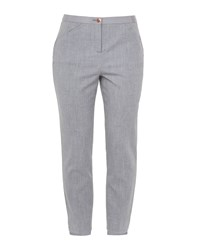 Ted Baker Daizit Stitch Detail Skinny Trousers Grey