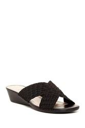 Impo Raelyn Wedge Sandal Black