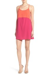 Women's Mimi Chica Colorblock Racerback Tank Dress